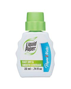 PAP5640115 FAST DRY CORRECTION FLUID, 22 ML BOTTLE, WHITE, 1/DOZEN