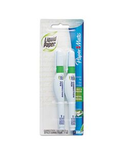 PAP5622415 CORRECTION PEN, 7 ML, WHITE, 2/PACK