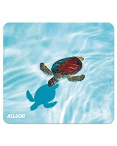 ASP31425 NATURESMART MOUSE PAD, TURTLE DESIGN, 8 1/2 X 8 X 1/10