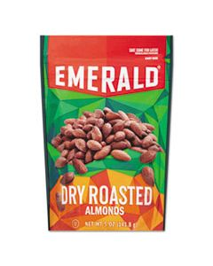 DFD33664 DRY ROASTED ALMONDS, 5 OZ PACK, 6/CARTON