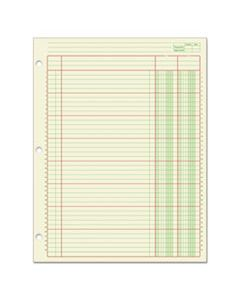 ABFACP85112 COLUMNAR ANALYSIS PAD, 2 COLUMN, 8 1/2 X 11, SINGLE PAGE FORMAT, 50 SHEETS/PAD