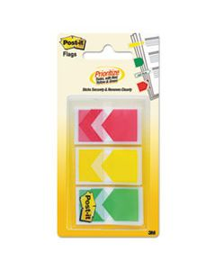 """MMM682ARRRYG ARROW 1"""" PRIORITIZATION PAGE FLAGS, RED/YELLOW/GREEN, 60/PACK"""