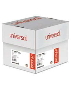 UNV15874 PRINTOUT PAPER, 4-PART, 15LB, 9.5 X 11, WHITE/CANARY/PINK/BUFF, 900/CARTON
