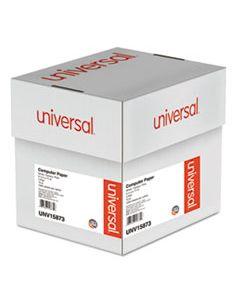 UNV15873 PRINTOUT PAPER, 3-PART, 15LB, 9.5 X 11, WHITE/CANARY/PINK, 1, 200/CARTON