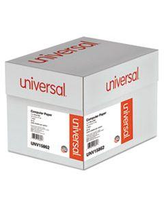 UNV15862 PRINTOUT PAPER, 1-PART, 20LB, 14.88 X 11, WHITE/BLUE BAR, 2, 400/CARTON