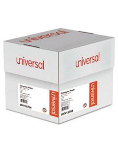 UNV15704 PRINTOUT PAPER, 3-PART, 15LB, 9.5 X 11, WHITE, 1, 100/CARTON