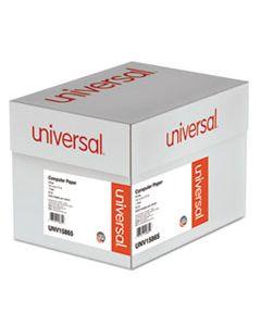 UNV15865 PRINTOUT PAPER, 1-PART, 20LB, 14.88 X 11, WHITE, 2, 400/CARTON