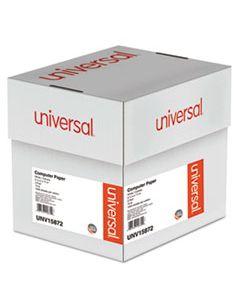 UNV15872 PRINTOUT PAPER, 2-PART, 15LB, 9.5 X 11, WHITE/CANARY, 1,800/CARTON