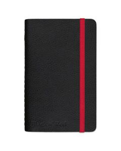 JDK400065001 BLACK SOFT COVER NOTEBOOK, WIDE/LEGAL RULE, BLACK COVER, 5.5 X 3.5, 71 SHEETS