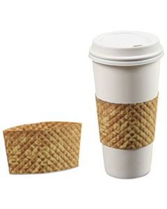 BGC463230 JAVA JACKET COFFEE SLEEVE FOR 12-24 OZ HOT CUPS, BROWN, 200/CARTON
