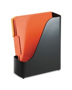 OIC22352 2200 SERIES MAGAZINE FILE, 4 X 9 1/2 X 11 1/2, BLACK