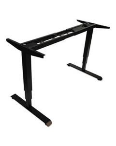 "ALEHT3SAB ADAPTIVERGO 3-STAGE ELECTRIC TABLE BASE W/MEMORY CONTROLS, 25"" TO 50.7"", BLACK"
