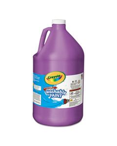 CYO542128040 WASHABLE PAINT, VIOLET, 1 GAL