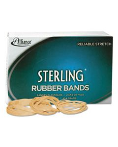 """ALL24085 STERLING RUBBER BANDS, SIZE 8, 0.03"""" GAUGE, CREPE, 1 LB BOX, 7,100/BOX"""