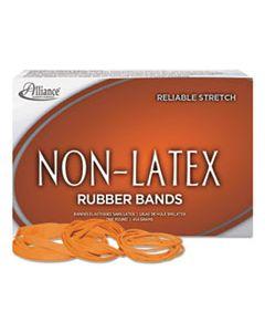 """ALL37176 NON-LATEX RUBBER BANDS, SIZE 117B, 0.04"""" GAUGE, ORANGE, 1 LB BOX, 250/BOX"""