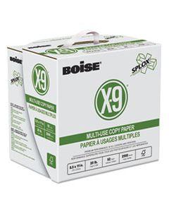 CASSP8420 X-9 SPLOX MULTI-USE PAPER , 92 BRIGHT, 20LB, 8.5 X 11, WHITE, 500 SHEETS/REAM, 5 REAMS/CARTON
