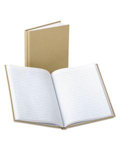 BOR6571 BOUND MEMO BOOKS, NARROW RULE, 9 X 5.88, WHITE, 96 SHEETS