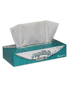 GPC48580BX PREMIUM FACIAL TISSUE, 2-PLY, WHITE, FLAT BOX, 100 SHEETS/BOX, 100/BOX