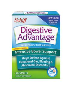 DVA00117DA PROBIOTIC INTENSIVE BOWEL SUPPORT CAPSULE, 96 COUNT, 36/CARTON