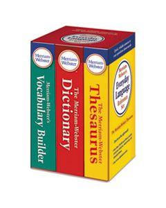 MER3328 EVERYDAY LANGUAGE REFERENCE SET, DICTIONARY, THESAURUS, VOCABULARY BUILDER