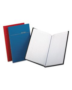 BOR96334 RECORD/ACCOUNT BOOK, ASST COVER COLORS, 150 PAGES, 12 1/8 X 7 3/4