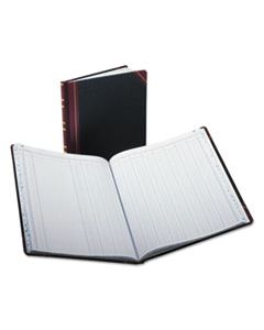 BOR1602121512 COLUMNAR ACCOUNTING BOOK, 12 COLUMN, BLACK COVER, 150 PAGES, 10 1/8 X 12 1/4