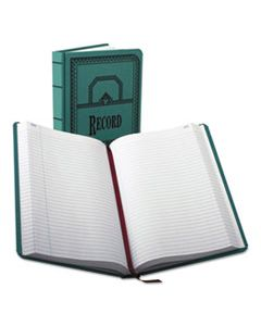 BOR66500R RECORD/ACCOUNT BOOK, RECORD RULE, BLUE COVER, 500 PAGES, 12 1/8 X 7 5/8
