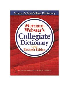 MER8095 MERRIAM-WEBSTER'S COLLEGIATE DICTIONARY, 11TH EDITION, HARDCOVER, 1,664 PAGES
