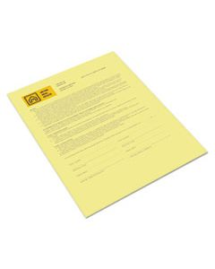 XER3R12437 REVOLUTION DIGITAL CARBONLESS PAPER, 1-PART, 8.5 X 11, CANARY, 500/REAM
