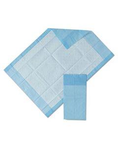 "MIIMSC281224C PROTECTION PLUS DISPOSABLE UNDERPADS, 17"" X 24"", BLUE, 25/BAG"