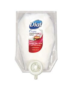 DIA12260CT EXTRA DRY 7-DAY MOISTURIZING LOTION WITH SHEA BUTTER, FLORAL, 15 OZ REFILL, 6/CARTON