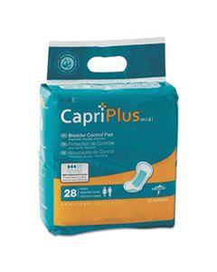"MIIBCPE02 CAPRI PLUS BLADDER CONTROL PADS, EXTRA PLUS, 6.5"" X 13.5"", 28/PACK"