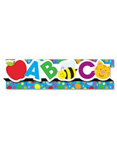 "CDP108056 POP-IT BORDER, ABCS/123S, 3"" X 24', 8 STRIPS/PACK"