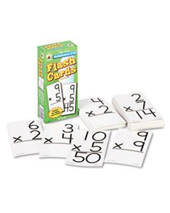 CDPCD3930 FLASH CARDS, MULTIPLICATION FACTS 0-12, 3W X 6H, 94/PACK