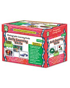 CDPD44046 PHOTOGRAPHIC LEARNING CARDS BOXED SET, EARLY LEARNING SKILLS, GRADES K-12