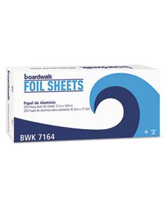"BWK7164 HEAVY-DUTY ALUMINUM FOIL POP-UP SHEETS, 12"" X 10 3/4"", 200/BOX, 12 BOXES/CARTON"