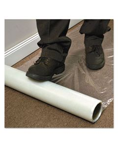 ESR110024 ROLL GUARD TEMPORARY FLOOR PROTECTION FILM FOR CARPET, 36 X 2,400, CLEAR
