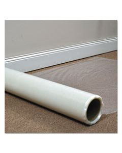 ESR110021 ROLL GUARD TEMPORARY FLOOR PROTECTION FILM FOR CARPET, 24 X 2,400, CLEAR
