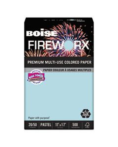 CASMP2207BE FIREWORX PREMIUM MULTI-USE PAPER, 20LB, 11 X 17, BOTTLE ROCKET BLUE, 500/REAM