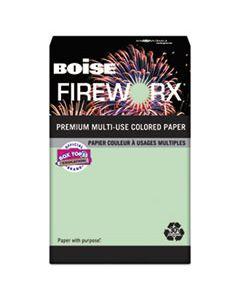 CASMP2207GN FIREWORX PREMIUM MULTI-USE PAPER, 20LB, 11 X 17, POPPER-MINT GREEN, 500/REAM