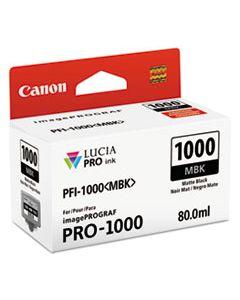 CNM0545C002 0545C002 (PFI-1000) LUCIA PRO INK, 80 ML, MATTE BLACK