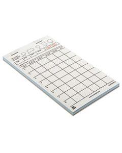RPPGC4700WP2 GUEST CHECK BOOK, CARBONLESS DUPLICATE, 4 1/4 X 7 1/4, 40/BOOK, 50 BOOKS/CARTON