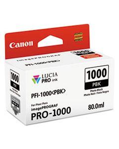 CNM0546C002 0546C002 (PFI-1000) LUCIA PRO INK, 80 ML, PHOTO BLACK