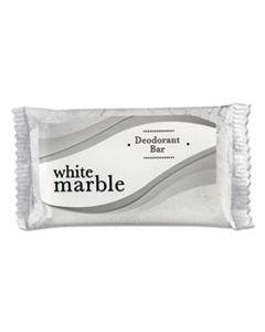 DIA00184A INDIVIDUALLY WRAPPED DEODORANT BAR SOAP, WHITE, # 3/4 BAR, 1000/CARTON