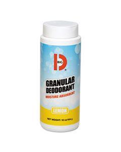 BGD150 GRANULAR DEODORANT, LEMON, 16 OZ, SHAKER CAN, 12/CARTON