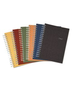 MEA06674 RECYCLED NOTEBOOK, 1 SUBJECT, MEDIUM/COLLEGE RULE, ASSORTED COLOR COVERS, 9.5 X 6, 120 SHEETS