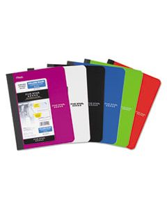 MEA09120 COMPOSITION BOOK, MEDIUM/COLLEGE RULE, ASSORTED COVER COLORS, 9.75 X 7.5, 100 SHEETS