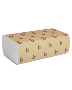 BWK6200 MULTIFOLD PAPER TOWELS, WHITE, 9 X 9 9/20, 250 TOWELS/PACK, 16 PACKS/CARTON