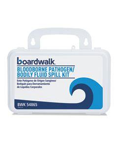 """BWK54865 BLOODBORNE PATHOGEN KIT, 30 PIECES, 3"""" X 8"""" X 5"""", WHITE"""