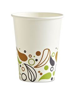 BWKDEER12CCUP DEERFIELD PRINTED PAPER COLD CUPS, 12 OZ, 50 CUPS/PACK, 20 PACKS/CARTON